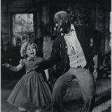 Bill Bojangles Robinson and Shirley Temple